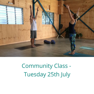 Learn More about Community Class (Tuesday 24th July)